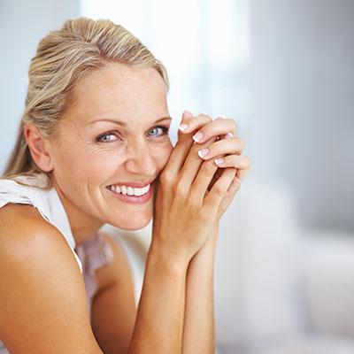 Older woman smiling   TempSure Vitalia